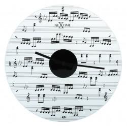 Glass Wall Clock Sheet Music