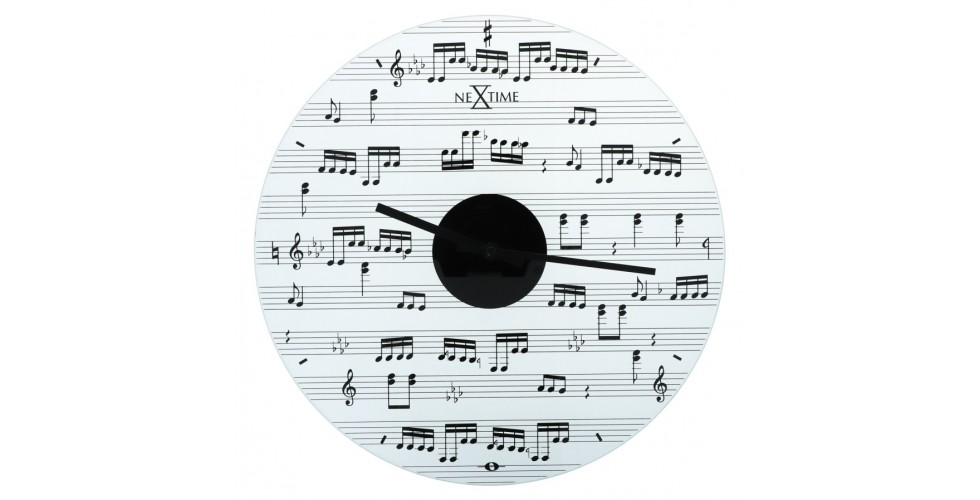 Glass Wall Clock Sheet Music