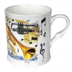 Fine China Trumpet Design