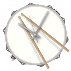 Rock Club Clock Drum