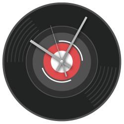 Rock Club Clock Vinyl