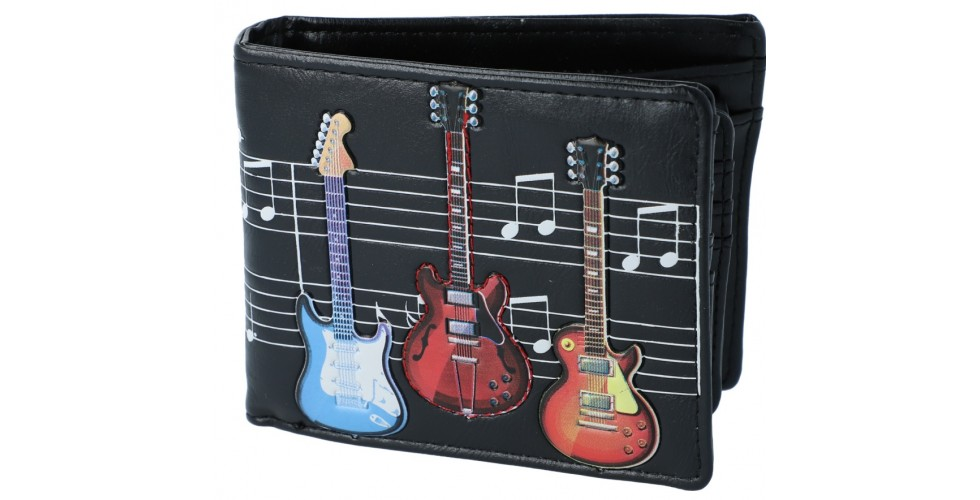 Wallet Guitars / Staves Black