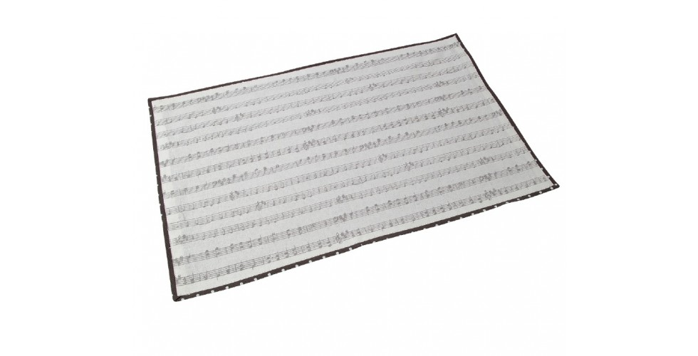Placemat Music Notes
