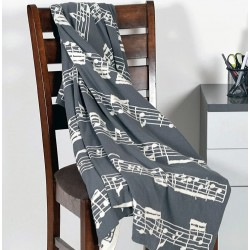 """Knitted Blanket """"Für Elise"""", 100% cotton"""