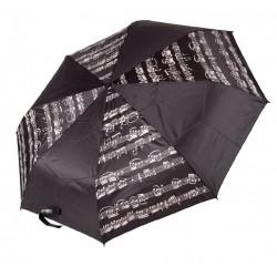Folding Mini Umbrella with Music Notes