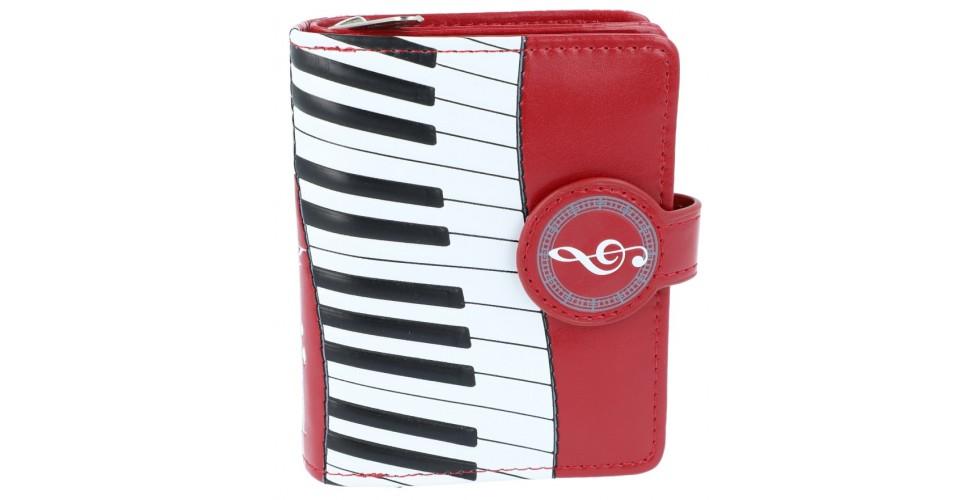 Bordeaux Piano Wallet