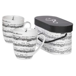 Adagio White MUG SET Gift Boxed PPD