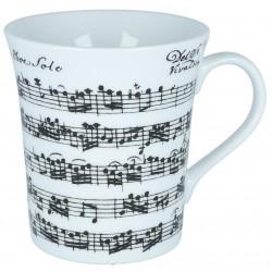 Porcelain Mug VIVALDI, white