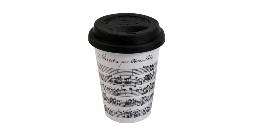 Coffee-To-Go Mug Vivaldi Libretto