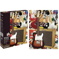 Fender Collage 1000 Piece Jigsaw Puzzle