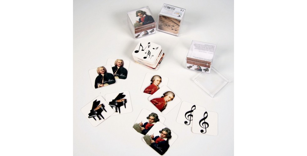 Memory game Music & Classics 18 motifs