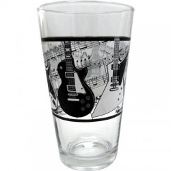 Glass Tumbler Electric Guitars/Music