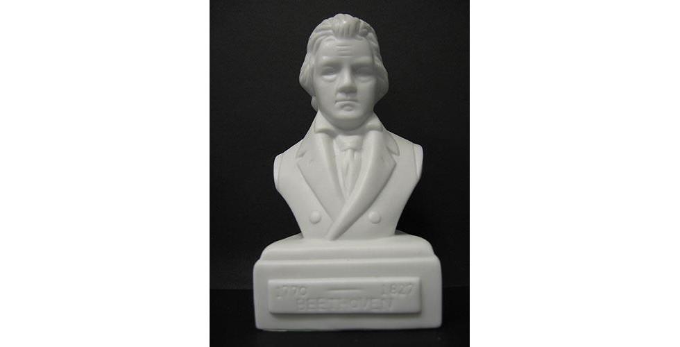 Composer Bust: Beethoven (Porcelain)