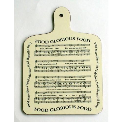 Chopping Board Food Glorious Food