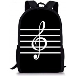Treble clef shoulder bag backpack / school bag