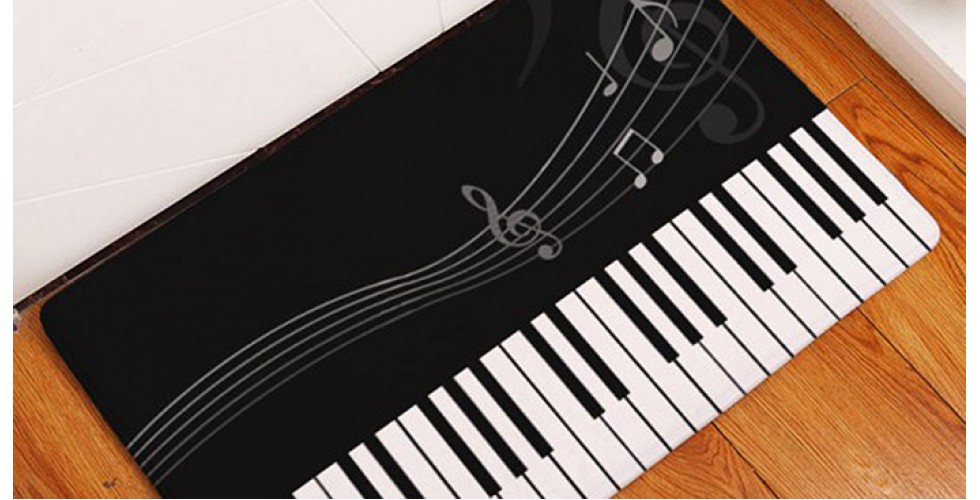 Floor mat Piano Style