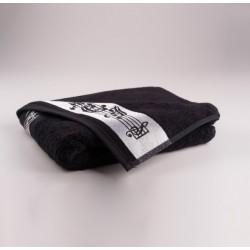 Towel bath black 67 x 140 cm