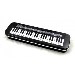 Pencil Case Tin Keyboard Design