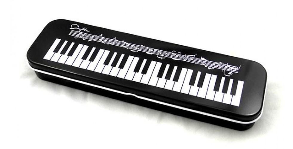 Pencil Case Tin Keyboard Design