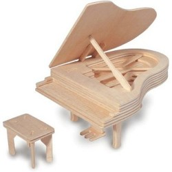 Quay Woodcraft Kit Grand Piano
