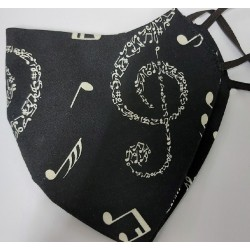 I love Music Mask 100% cotton