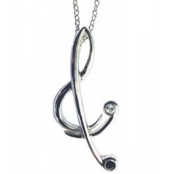 Pendant Stylised Treble Clef