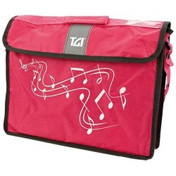 Music Bag Carrier Navy Pink