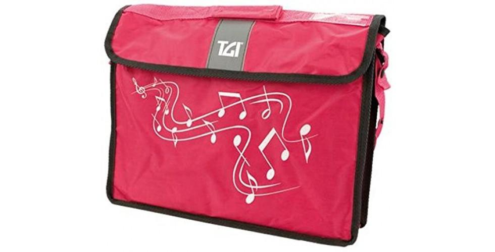 Music Bag Carrier Navy Pink