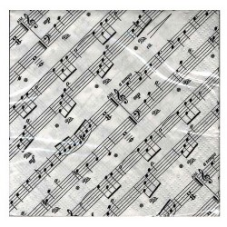 Napkins 2-Ply Sheet Music