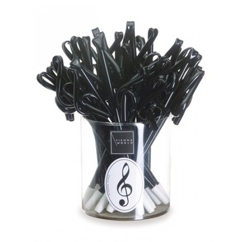 Pen Treble Clef Black Vienna World