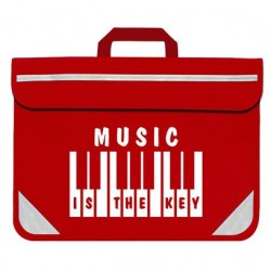 Keyboard Music Bag - Music Is The Key