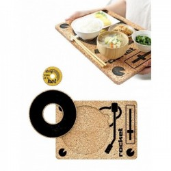 "Trivet & Tray 3-In-1 ""DJ Three-Vet"""