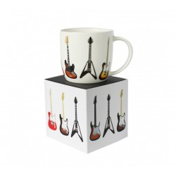 Rock Club Guitar Mug