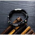 Black Guitar St.Steel Bracelet