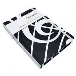 A6 Pocket Notebook Sonata Black