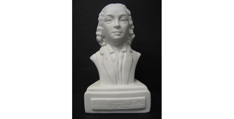Composer Bust: Vivaldi (Porcelain)
