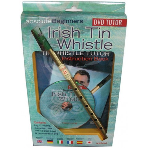 Absolute Beginners Irish Tin Whistle