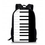 Piano Shoulder bag Backpack / School bag