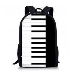 Piano Shoulder bag Backpack / School bag