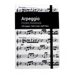 A6 Pocket Notebook Arpeggio