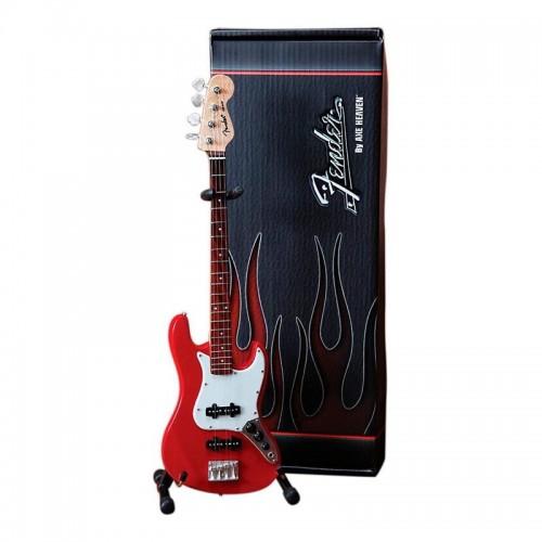 Axe Heaven Fender™ Jazz Bass™ Classic Red Finish