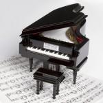Music box Piano Vienna World