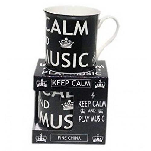 Mug Keep Calm & Play Music