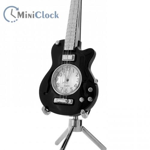 Miniature Clock Electric Guitar (black)