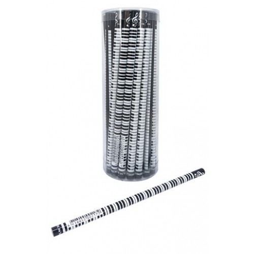 Black Keyboard Pencil set of 4