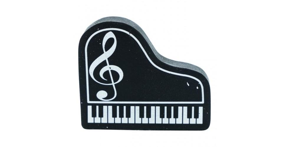 Piano Eraser Black