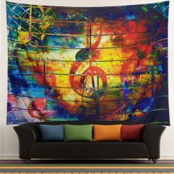 Colorful Music Tapestry, Psychedelic Tapestry150 x 200 cm