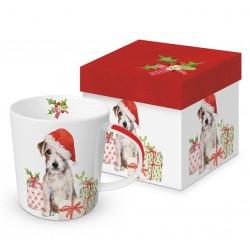 Christmas Pup Trend mug gift box 0.35l PPD