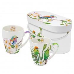 Bali & Sri Lanka Mug set gift box PPD