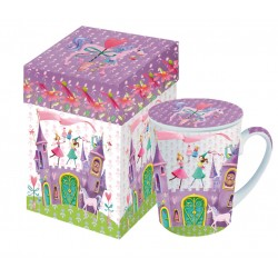 Princess castle mug with lid gift box 0,25l PPD